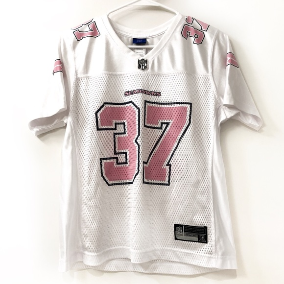 Authentic Women's NFL Seahawks Jersey Pink Size M